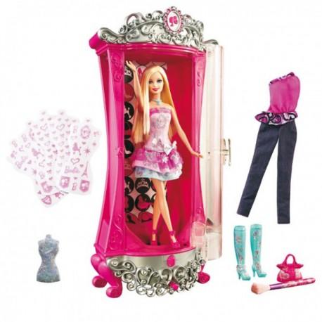 Barbie KMS Kouzelná šatna s panenkou V1644