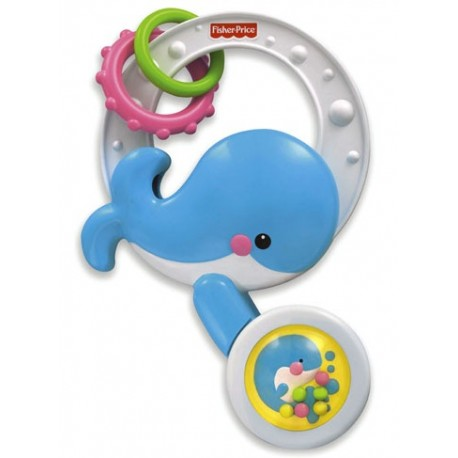 Fisher Price Chrastítko velryba