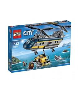 LEGO®City60093 Vrtulník pro hlubinný mořský výzkum
