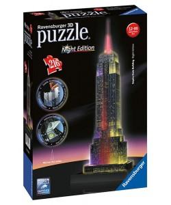 Puzzle Ravensburger Empire State Building- Noční e
