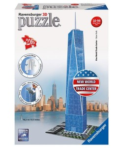Puzzle 3D Trade Center 3D 216dílků