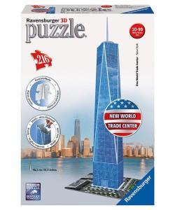 Puzzle 3D Trade Center 3D 216dílků