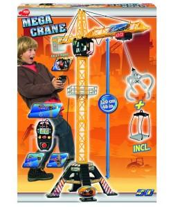 Dickie Jeřáb Mega Crane 120cm, na kabel