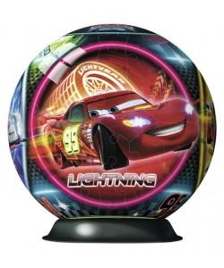 Puzzleball 3D Disney Auta Neonová světla 108d