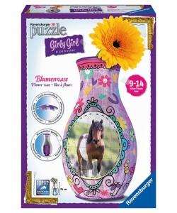 Puzzle 3D Váza Kůň 3D 216d