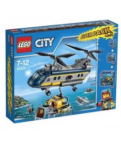 LEGO City 66522 Podmořská výzkumná expedice 4v1