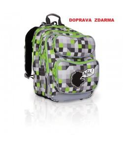 Školní batoh Topgal CHI 743 C Grey DOPRAVA ZDARMA