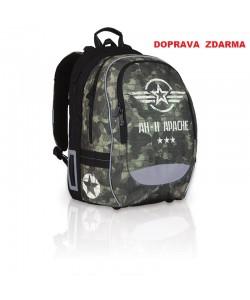 Školní batoh Topgal CHI 752 R Khaki DOPRAVA ZDARMA
