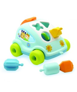 SMOBY Cotoons autíčko vkládačka, modré