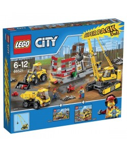 LEGO City 66521 City Value Pack(60076,60073,60074)