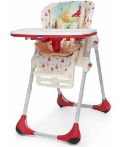 Chicco Jídelní židlička Polly 2v1, Timeless