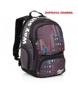 Studentský batoh Topgal HIT 865 C - Grey