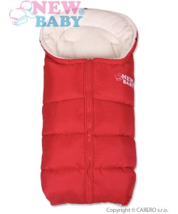 Zimní fusák New Baby Fluffy Red
