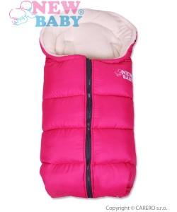 Zimní fusák New Baby Fluffy Pink