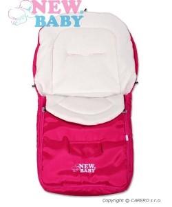 Zimní fusák New Baby Classic Fleece pink