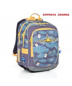 Školní batoh Topgal CHI 789 D Blue Doprava zdarma