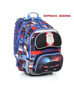 Školní batoh Topgal CHI 794 D Blue Doprava zdarma