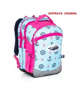 Školní batoh Topgal CHI 802 H Pink Doprava zdarma