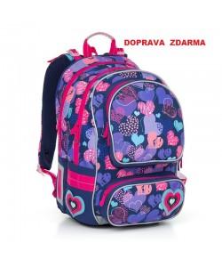 Školní batoh Topgal CHI 804 H Pink Doprava zdarma