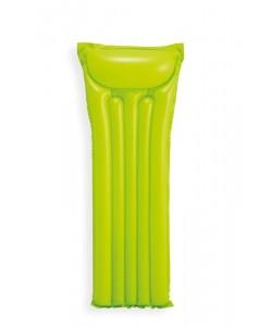 INTEX Matrace nafukovací 183 x 69cm - zelená