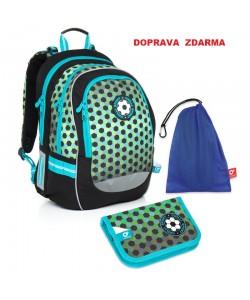 Školní batoh Topgal CHI 800 E SET MEDIUM