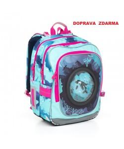 Školní batoh Topgal CHI 790 D Blue Doprava zdarma