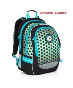 Školní batoh Topgal CHI 800 E Green Doprava zdarma