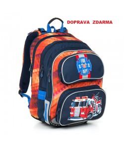 Školní batoh Topgal CHI 793 G Red DOPRAVA ZDARMA