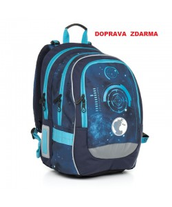 Školní batoh Topgal CHI 799 D Blue Doprava zdarma