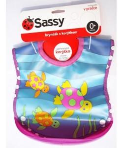 Sassy Bryndák s korýtkem moře - fialová