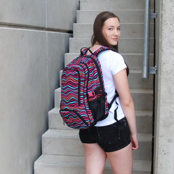 Studentský batoh Topgal HIT 858 H - Pink - Macíčkovy hračky 24bb3af170