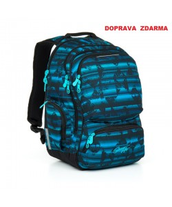 Studentský batoh Topgal HIT 864 D - Blue