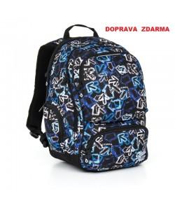 Studentský batoh Topgal HIT 867 D - Blue