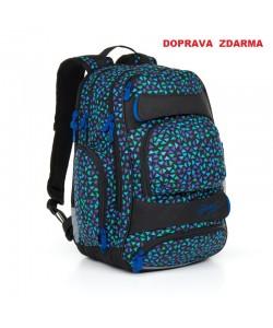 Studentský batoh Topgal HIT 868 D - Blue