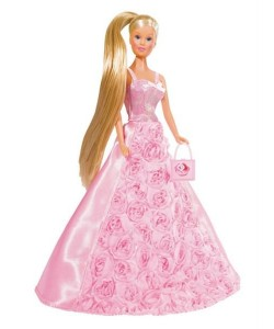 Simba Panenka Steffi Gala Princess světle růžová