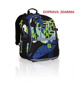 Školní batoh Topgal CHI 706 A Black DOPRAVA ZDARMA
