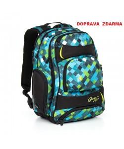 Studentský batoh Topgal HIT 869 E - Green