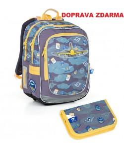 Školní batoh Topgal CHI 789 D SET SMALL