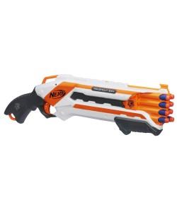 NERF Elite Pistole střílí 2 šipky najednou