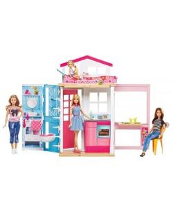 Barbie Dům 2 v 1 a panenka