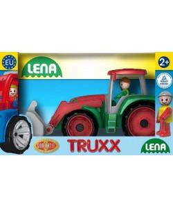 LENA Truxx traktor v okrasné krabici