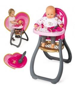 Smoby Baby Nurse Jídelní židlička pro panenku