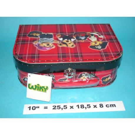 Kufřík 881552 Medvídek Pirát 25cm