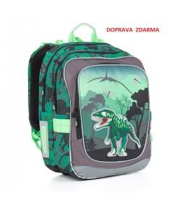 Školní batoh Topgal CHI 842 E Green DOPRAVA ZDARMA