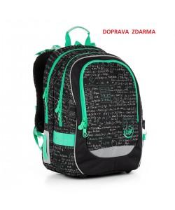 Školní batoh Topgal CHI 866 A Black DOPRAVA ZDARMA