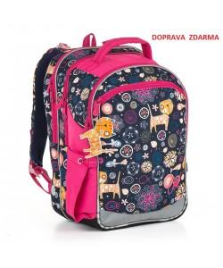 Školní batoh Topgal CHI 876 D Blue DOPRAVA ZDARMA