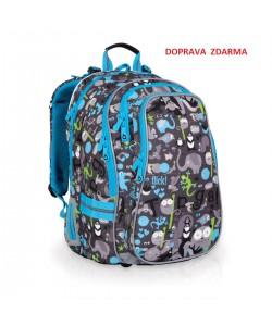 Školní batoh Topgal CHI 701 C Grey DOPRAVA ZDARMA