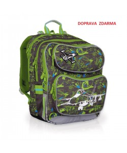 Školní batoh Topgal CHI 698 C - Grey
