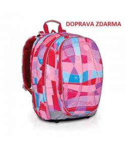 Školní batoh Topgal CHI 703 H Pink DOPRAVA ZDARMA