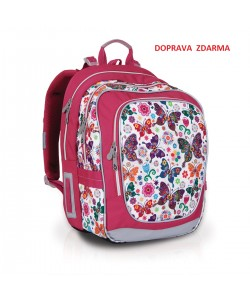 Školní batoh Topgal CHI 740 B White DOPRAVA ZDARMA